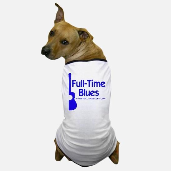 2-full-time blues-logo-large-ALTERNATE Dog T-Shirt