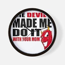 Devil(W) Wall Clock