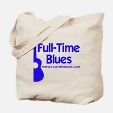 2-full-time blues-logo-large-ALTERNATE Tote Bag