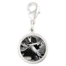 blindblakebig Silver Round Charm
