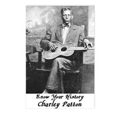 2-charleypattonbig Postcards (Package of 8)