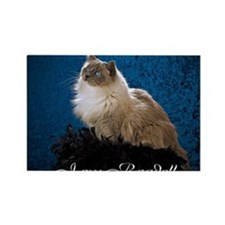 Zoey Mousepad Rectangle Magnet