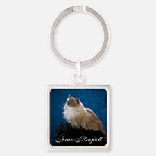 Zoey Mousepad Square Keychain