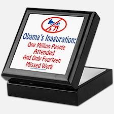 Million People Attended Obamas Inagur Keepsake Box