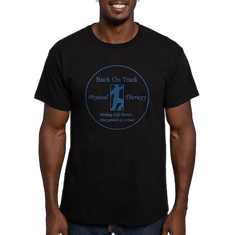 logo_circle Men's Fitted T-Shirt (dark)