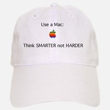 mac - smarter not harder Baseball Baseball Cap