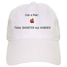 mac - smarter not harder Baseball Cap