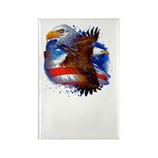 Eagle life Liberty Rectangle Magnet