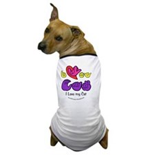 I_Love_CatFSbbt Dog T-Shirt