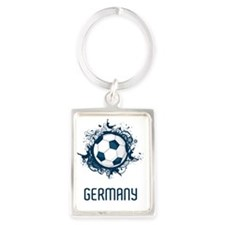 2-Germany Football3 Portrait Keychain