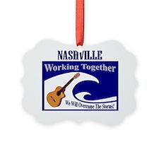 NashvilleWorkingTogether Ornament