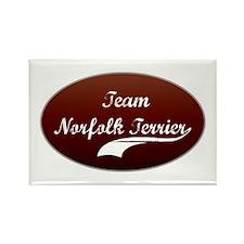 Team Norfolk Rectangle Magnet (100 pack)
