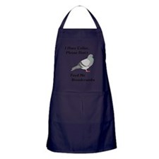Dont Feed Me Breadcrumbs Apron (dark)
