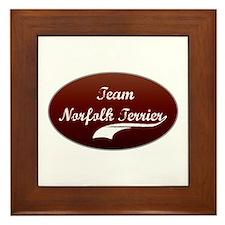 Team Norfolk Framed Tile