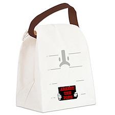arrestpope_black Canvas Lunch Bag