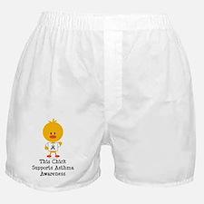 AsthmaAwarenessRibbonChick Boxer Shorts