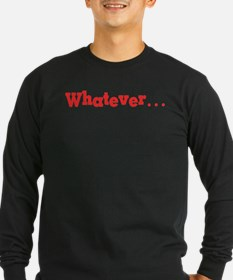 Whatever (red) T
