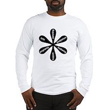MamaFlowerBW Long Sleeve T-Shirt