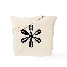 MamaFlowerBW Tote Bag