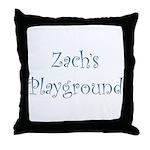 Zach's Playground Throw Pillow