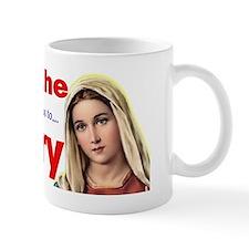pray__sign Mug
