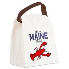 Its a Maine Thing Lobster Canvas Lunch Bag