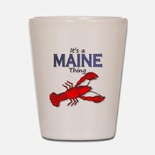 Its a Maine Thing Lobster Shot Glass