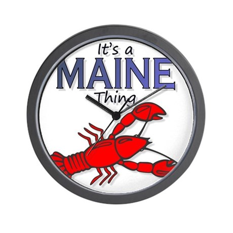 Its a Maine Thing Lobster Wall Clock