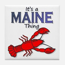 Its a Maine Thing Lobster Tile Coaster