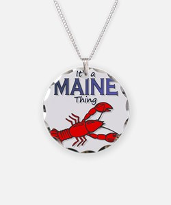 Its a Maine Thing Lobster Necklace