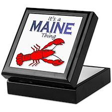 Its a Maine Thing Lobster Keepsake Box