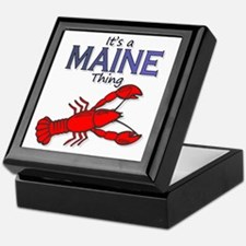 Its a Maine Thing Lobster Keepsake Box