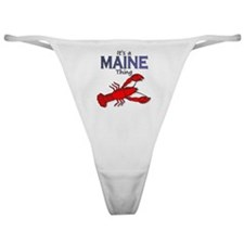 Its a Maine Thing Lobster Classic Thong