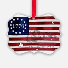 1776_american_flag_old copy Ornament