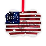 American history Picture Frame Ornaments