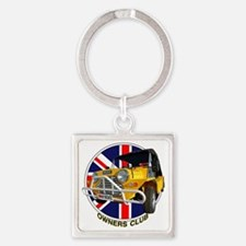 owners yelow moke Square Keychain