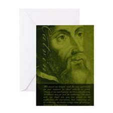Jrnl_Calvin-AgainstFreeWill Greeting Card