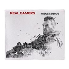 Real Gamers mm Throw Blanket