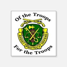 "ofthetroopsmp.gif Square Sticker 3"" x 3"""