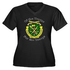 ofthetroopsm Women's Plus Size Dark V-Neck T-Shirt