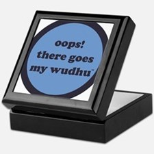 wudhu_blues Keepsake Box