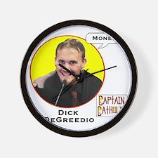 7-Dick DeGreedio - Character Spotlight  Wall Clock