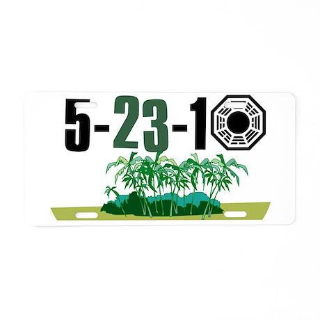 52310 Aluminum License Plate