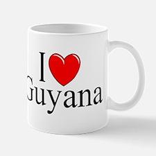 """""""I Love Guyana"""" Mug"""