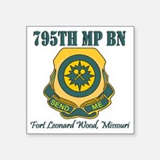 "795thMPBNFLWT.gif Square Sticker 3"" x 3"""