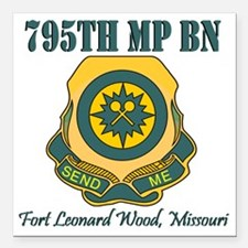 """795thMPBNFLWT.gif Square Car Magnet 3"""" x 3"""""""