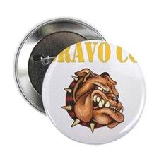 "bravo co bulldog black.gif 2.25"" Button"