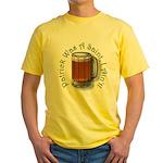 Patrick Was A Saint Yellow T-Shirt