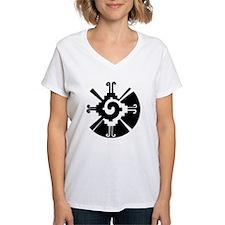 2-Hunab Ku bw clock Shirt