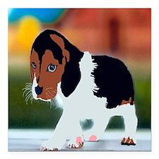 "beagle2 bag Square Car Magnet 3"" x 3"""